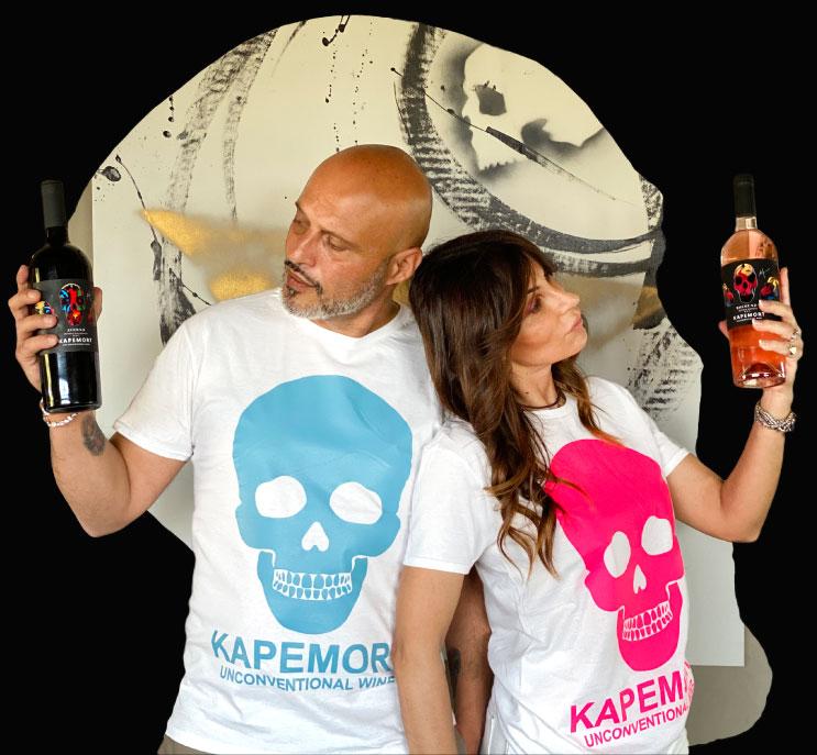 Offerta 3 vini Kapemort + T-shirt in omaggio + spedizione gratuita